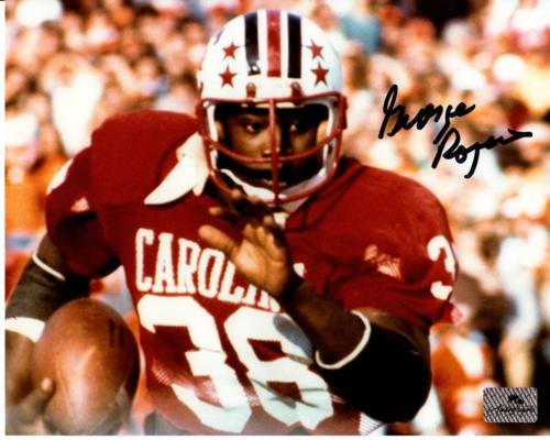 George Rogers Autographed South Carolina Gamecocks (Horiz) 8x10 (Carolina Photo)