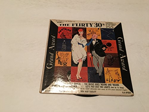 THE FLIRTY 30'S EP 45 RPM RECORD