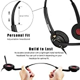 Office Phone headsets Rj9 with Noise Cancelling Mic