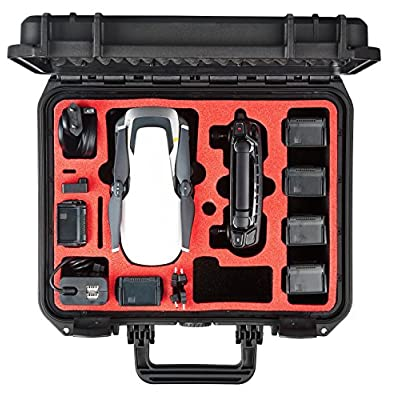 MC-CASES carrying case fits for DJI Mavic Air - Explorer Case Edition - Space for 6 batteries - Made in Germany: Camera & Photo