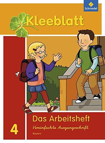 Kleeblatt. Das Sprachbuch - Ausgabe 2014 Bayern: Arbeitsheft 4