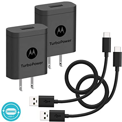 Amazon.com: [2 unidades] Cargadores Motorola TurboPower 18 ...