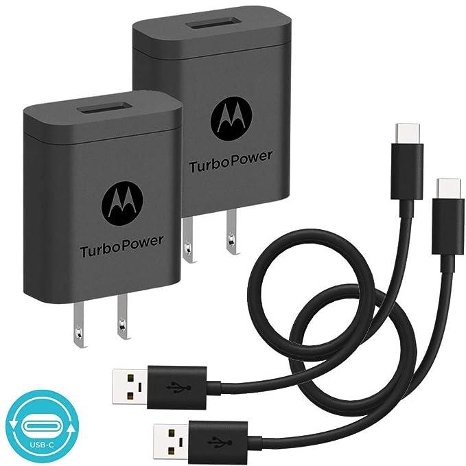 Paquete de 2] Motorola TurboPower 18 QC3.0 cargadores con ...