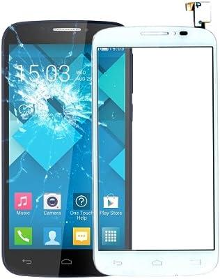 alsatek Repuesto Cristal táctil para Alcatel One Touch Pop C7/7040/7041 Blanco: Amazon.es: Electrónica