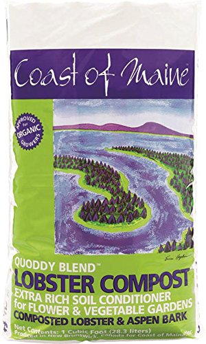COAST OF MAINE Q1 Lobster post Soil Conditioner 1 Cubic Feet