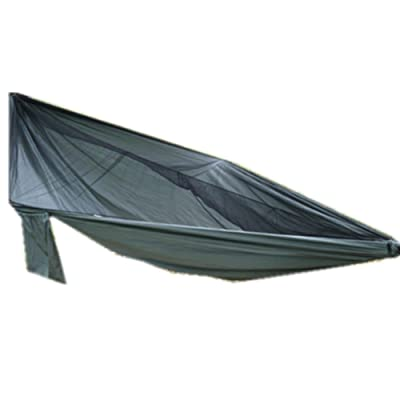 DZW Casual Sky Sun Cloth Moustiquaire 210D Oxford Simple Hamac Swing Camping Outdoor Hamac