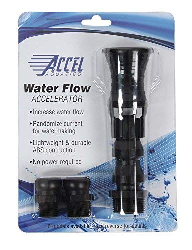 ACCEL AQUATICS VORTEX TWIST FLOW ACCELERATOR - MODEL VF