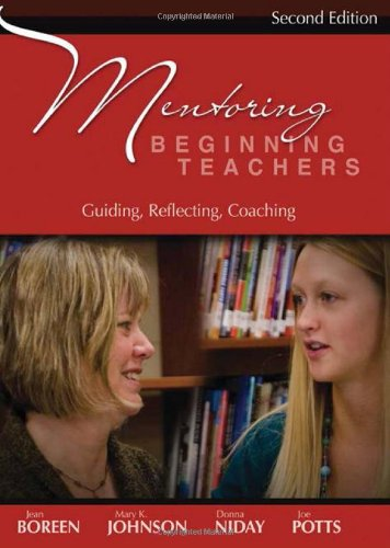Image for publication on Mentoring Beginning Teachers, second edition: Guiding, Reflecting, Coaching