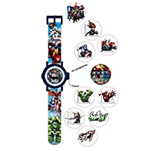 Marvel Multi Character Children's Projection Watch -