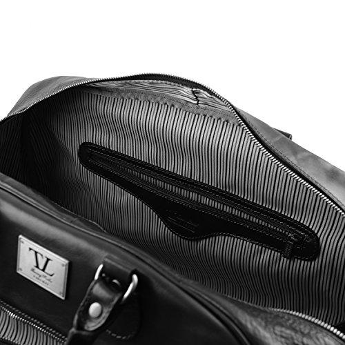 Tuscany Leather - TL Voyager - Sac de voyage en cuir - Grand modèle - Miel