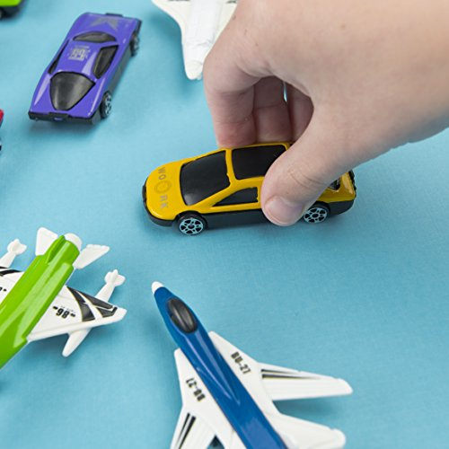 Amazon.com: Prextex 50 Pc Die Cast Toy Cars Party Favors Easter Eggs Filler or Cake Toppers Stocking Stuffers Cars Toys for Kids: Toys & Games