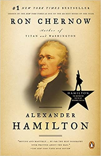 Image result for alexander hamilton book chernow