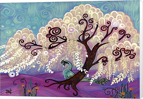 White Willow by Natasha Wescoat Canvas Art Wall Picture, Museum Wrapped, 22 x 16 inches
