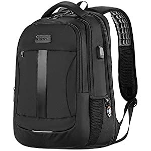 Laptop Backpack, Anti-Theft Business Travel Work Computer Rucksack with USB Charging Port, 15.6 Inch Large Lightweight…