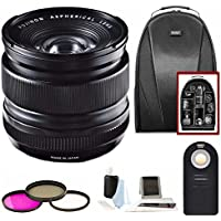 Fujifilm XF 14mm f/2.8 R Lens w/Focus Accesory Bundle & Camera Backpack