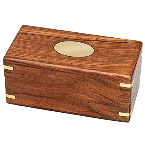 Bits And Pieces The Secret Enigma Gift Box Wooden Brainteaser Puzzle Box