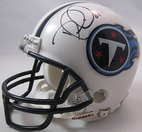 Signed Titans Mini Helmet (Delanie Walker Tennessee Titans, Signed, Autographed, Football Mini Helmet, a COA with the Proof Photo of Delanie Signing Will Be Included)