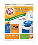 Arm and Hammer Diaper Pail Refill Bags, 30 Count, Health Care Stuffs