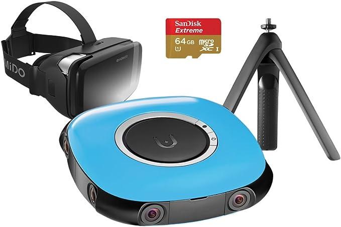 Vuze 3d 360 Grad 4k Vr Kamera Bundle Blau Elektronik