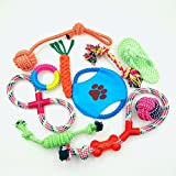 Pet Spot Dog Toys, Gift set with variety of rope toys for dogs and puppies For Sale