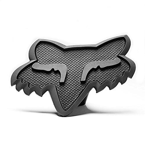 Fox Racing Mens Trailer Hitch Cover Accessories - Black/Gunm