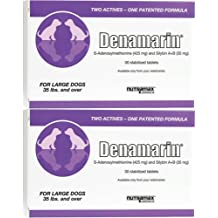 Nutramax Denamarin Tablets for Large Dogs 60ct (2 x 30ct)