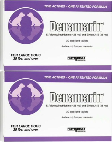 Nutramax Denamarin Tablets for Large Dogs 60ct (2 x 30ct) by Nutramax