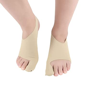 Amazon.com : Festnight Lycra Ankle Protecting Bandage Super-thin Breathable Foot Protection Product Big Toe Valgus Correction Kit Toes Pain Relief Belts : ...