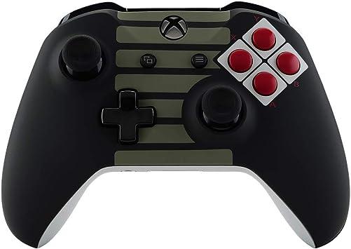 eXtremeRate Carcasa completa para Control de Xbox One S X Funda Tacto Suave Cubierta Delantera Placa Trasera