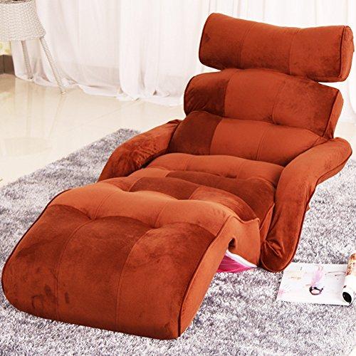 Amazon.com: Tatami silla de piso, Siesta sillón plegable ...