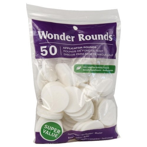 Wonder Rounds 50 Count Cosmetic Puff