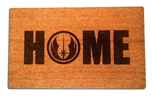 Star Wars Jedi Order Home Laser Engraved Coir Fiber Doormat 30 x 18