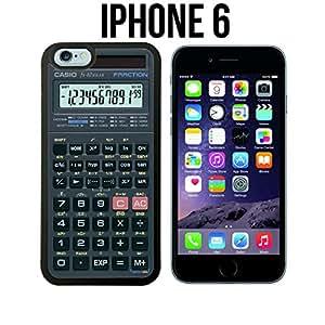 Scientific Calculator Custom made Case/Cover/skin FOR iPhone 6 - Black - Rubber Case ( Ship From CA)
