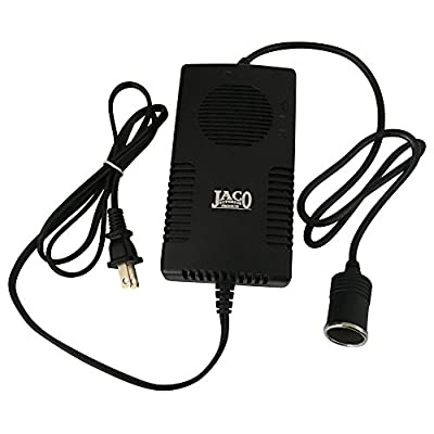 JACO AC-DC Power Adapter - 12V DC to 110V AC Converter - CE Certified - 10A/120W