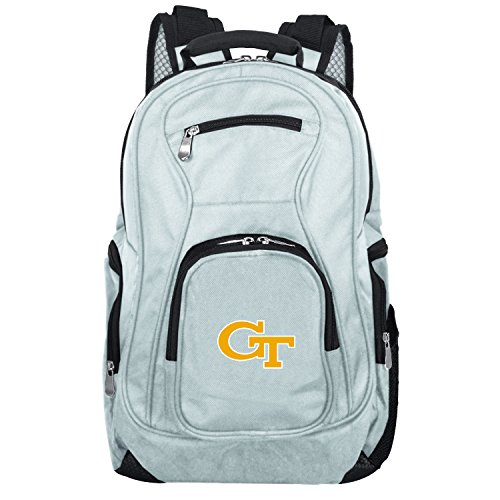 (NCAA Georgia Tech Yellow Jackets Voyager Laptop Backpack, 19-inches, Grey)