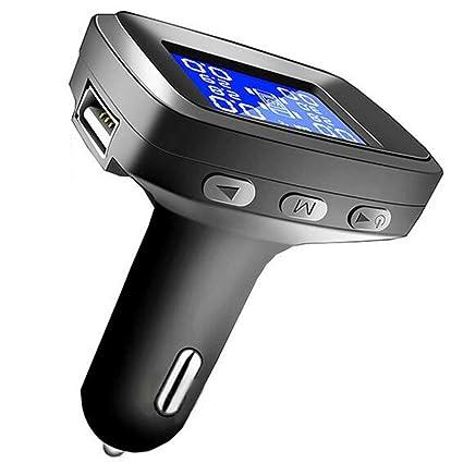 D&F Encendedor De Cigarrillos InaláMbrico Monitor De PresióN De NeumáTicos Detector TPMS Externo