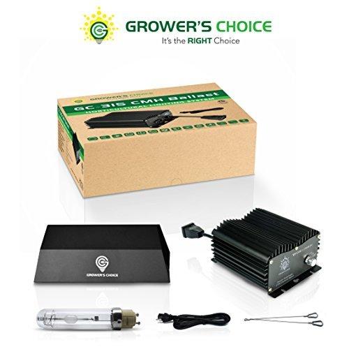 Ballast Commercial Greenhouse Fixture - Grower's Choice Horticultural Lighting 315W SE CMH CERAMIC METAL HALIDE Grow Kit for indoor plant grow: Ballast & SE Grow Light CMH (4K Veg Phase)/cmh system/Full Spectrum Grow