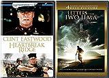 Clint Eastwood Heartbreak Ridge & Letters from Iwo Jima Special Edition 2 Disc DVD Pack Movie Set