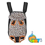 Pet Carrier Backpack for Small Dog Cat Puppy, Tail Out Front Chest Carrier Bag for Travel Outdoor Walking Hiking Cycling Camping, Wide Straps with Comfort Shoulder Pads Bonus Foldable Water Bowl Review