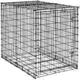 MidWest 54-By-35-By-45-Inch Single-Door Starter Series Pet Crate