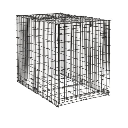MidWest 54-By-35-By-45-Inch Single-Door Starter Series Pet Crate ()