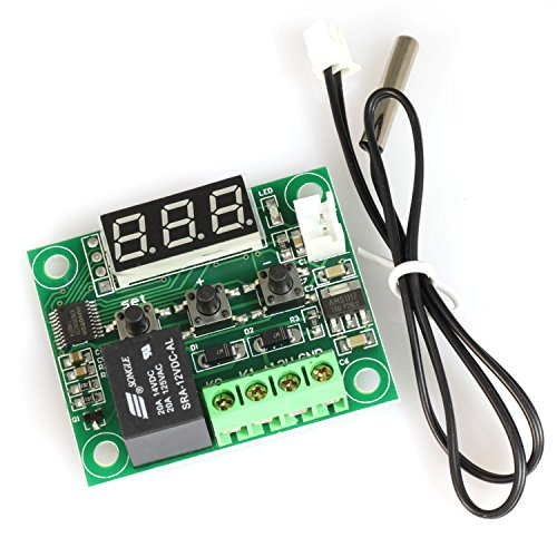 ToToT XH-W1209 Thermostat Temperature Control Switch -50-110 Degree Digital LED Display DC 12V Mini Temp Control Switch Board