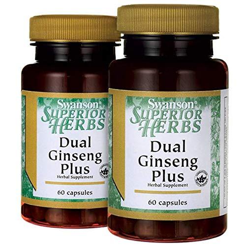 Swanson Dual Ginseng Plus 120 Caps
