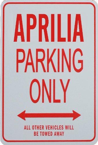 APRILIA Parkplatz nur Zeichen