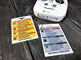 Drone Pilot Safety Pre-Flight Checklist Buzzitsafe Yellow/Blue & Grey 2 Pack