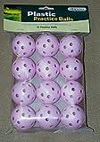 Hornungs Whiffle Practice Golf Balls 12 Pack, Outdoor Stuffs