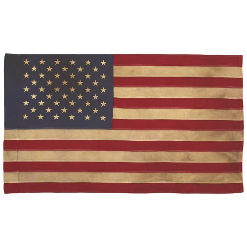 Valley Forge, American Flag, Poly Cotton, 2.5' x 4', 100% Ma