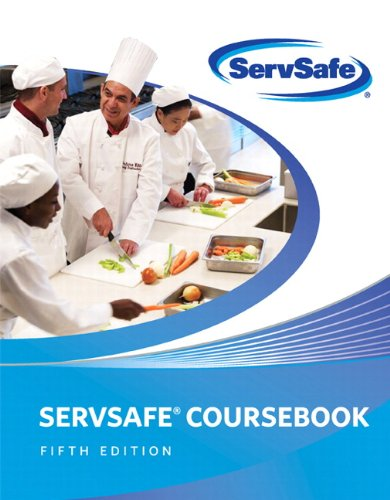 ServSafe CourseBook with Online Exam Voucher (5th Edition)