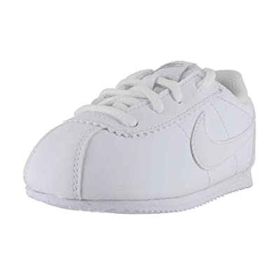 dee282ef9e3 Nike Toddlers Cortez (TD) Running Shoe (White White-Wolf Grey
