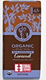 Equal Exchange Organic Caramel Milk With Sea Salt Crunch Chocolate 43% Dark Bar, 6 pack